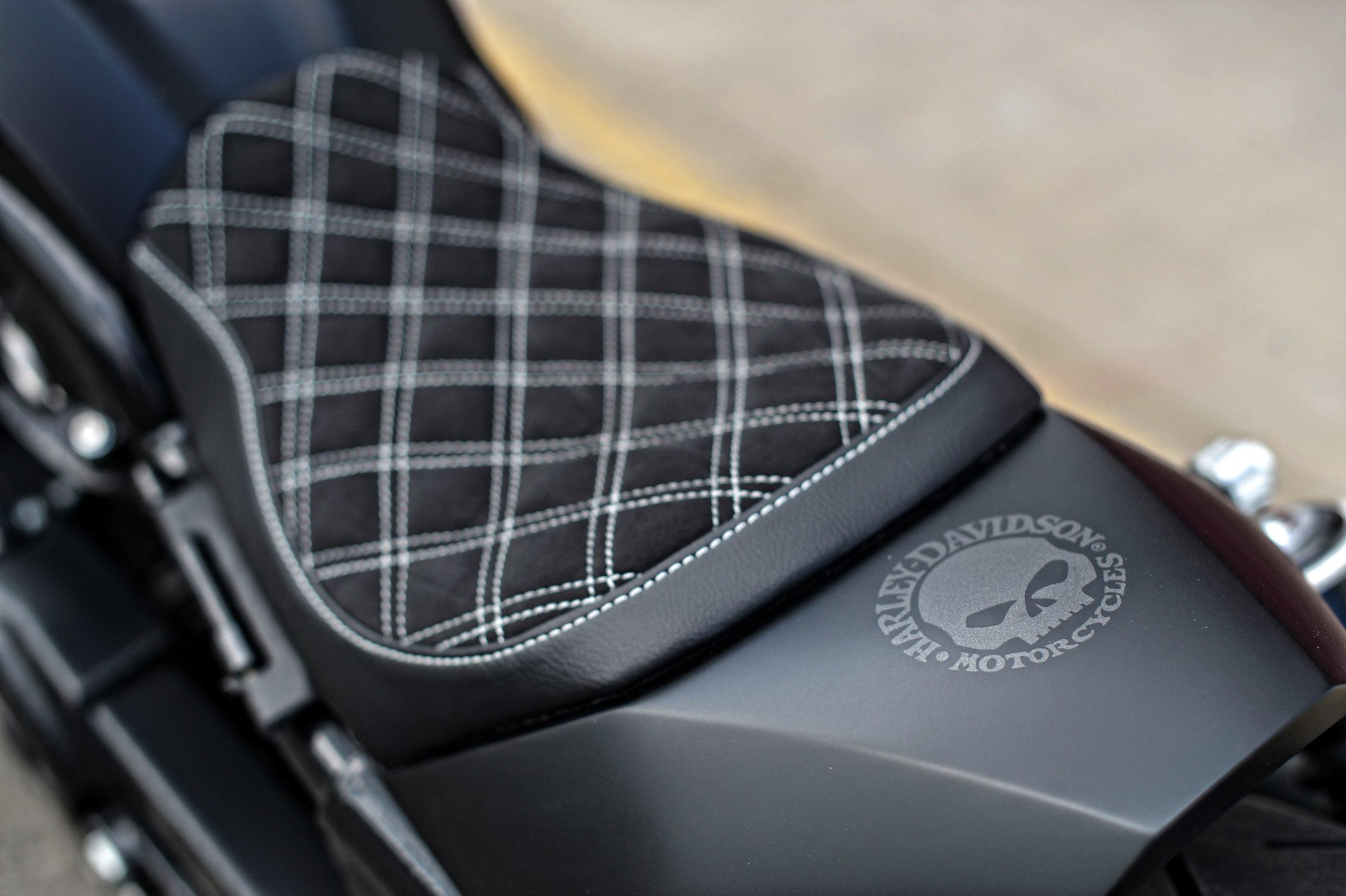 Custom Motorcycle Seat upholstery | Bike Seat Repair