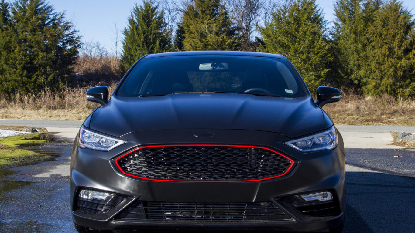 Ford Fusion 2018 – Black Leather & Alcantara