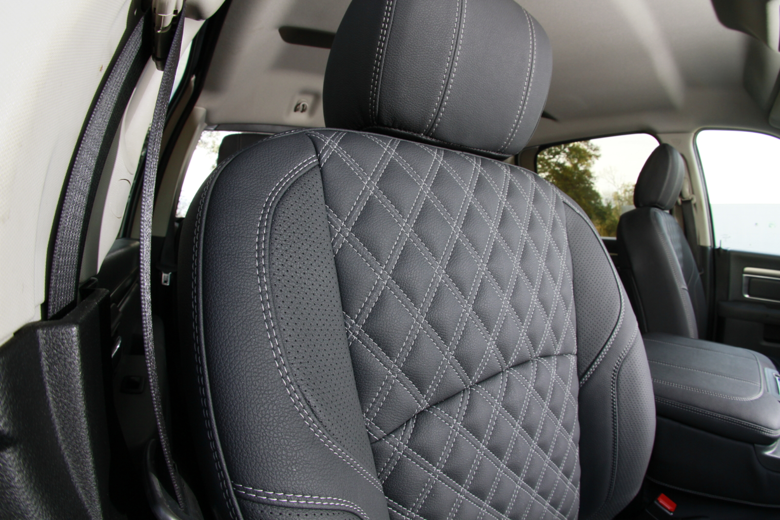 Marvelous Dodge Ram 2500 Leather Interior Seat Upholstery Ocoug Best Dining Table And Chair Ideas Images Ocougorg