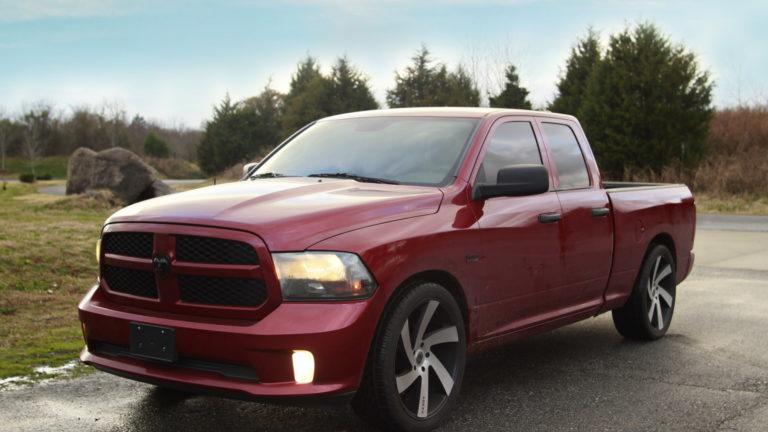 Dodge Ram 1500 – Leather Seats |  Interior Upholstery | Custom Interior- Charlotte NC