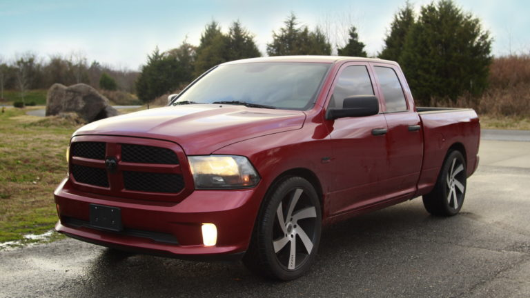 Dodge Ram 1500 - Leather Seats |  Interior Upholstery | Custom Interior- Charlotte NC