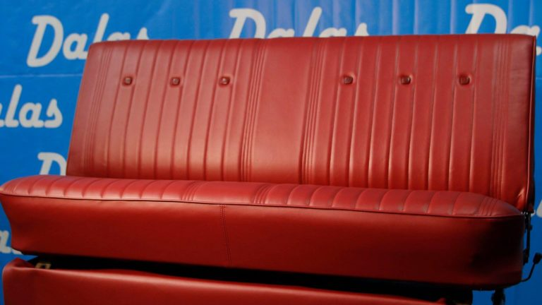 Great Job! Bench Seat Upholstery !