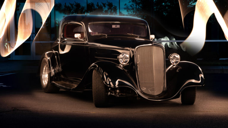 Custom Auto Upholstery | 1934 Chevrolet Coupe Interior