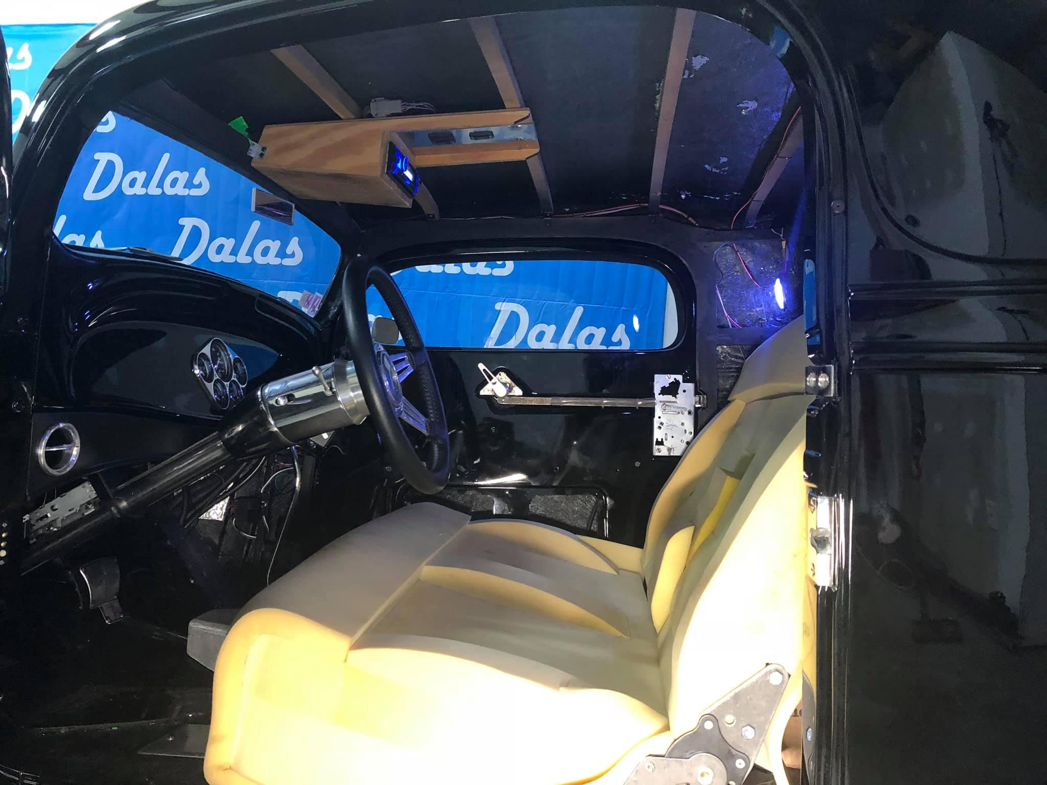 1934 Chevrolet Coupe Interior