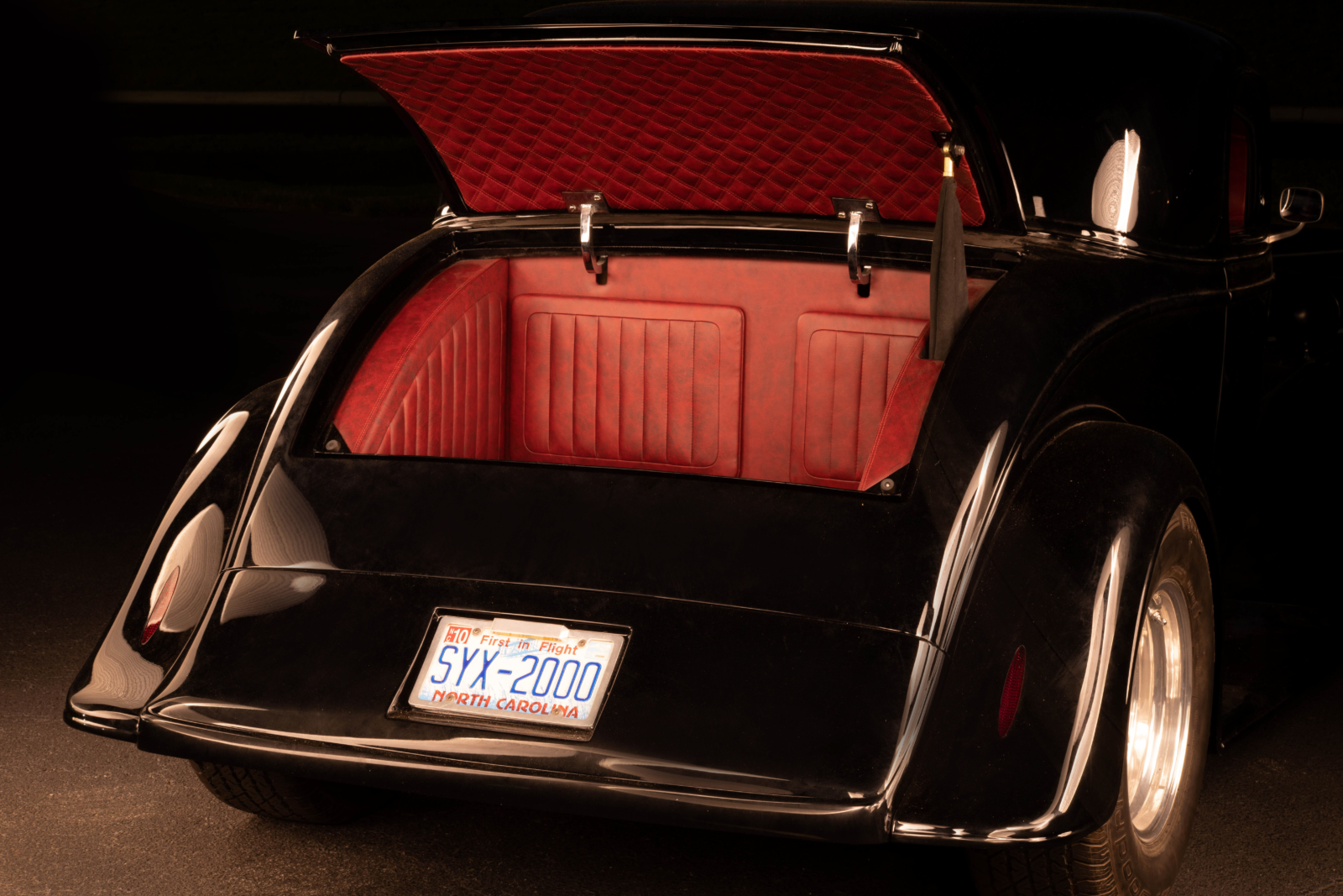 Custom Auto Upholstery Chevy Trunk