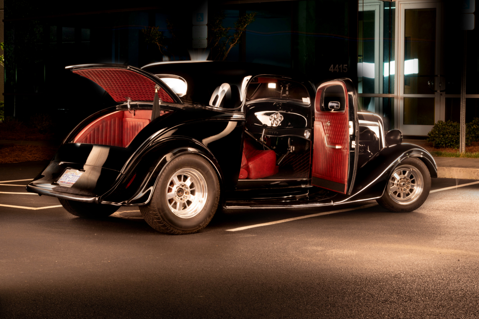 1934 Chevrolet Coupe Door Panels Custom Upholstery
