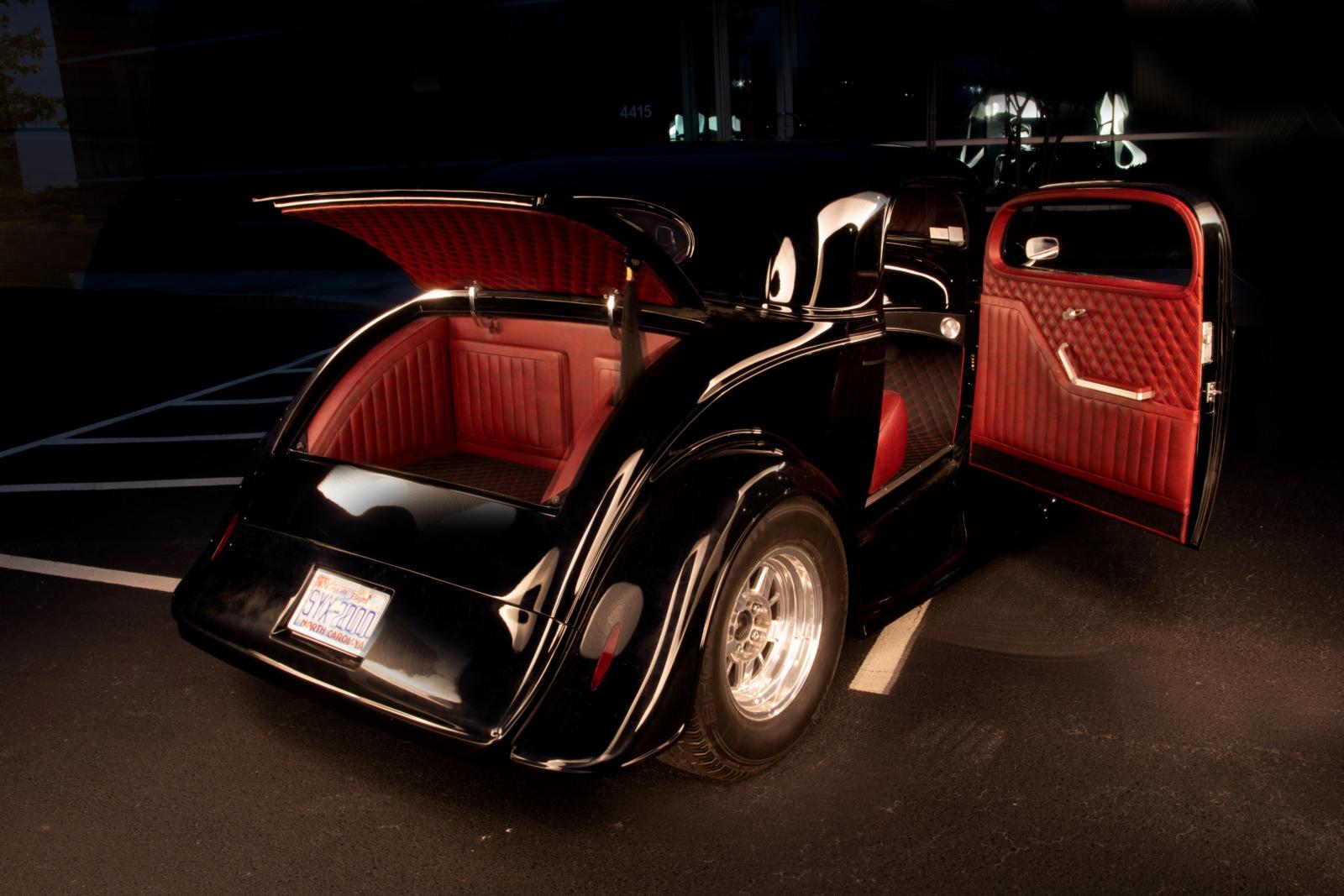 1934 Chevrolet Coupe Custom Auto Interior