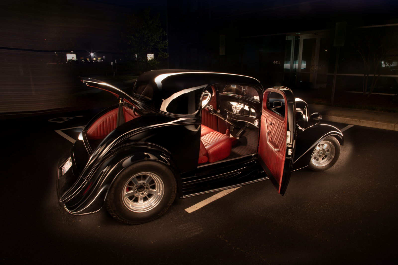 Car Upholstery 1934 Chevrolet Coupe