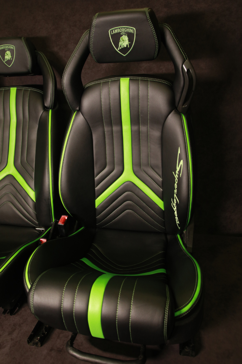 lamborghini front seats upholstery