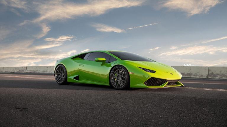 Custom Lamborghini front seats
